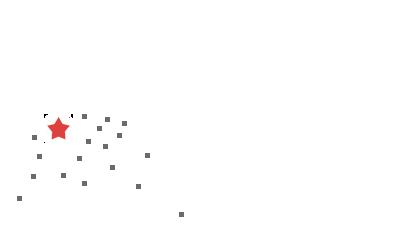 Карта с городами доставки